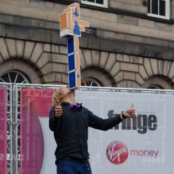 Edinburgh Festival Street performer